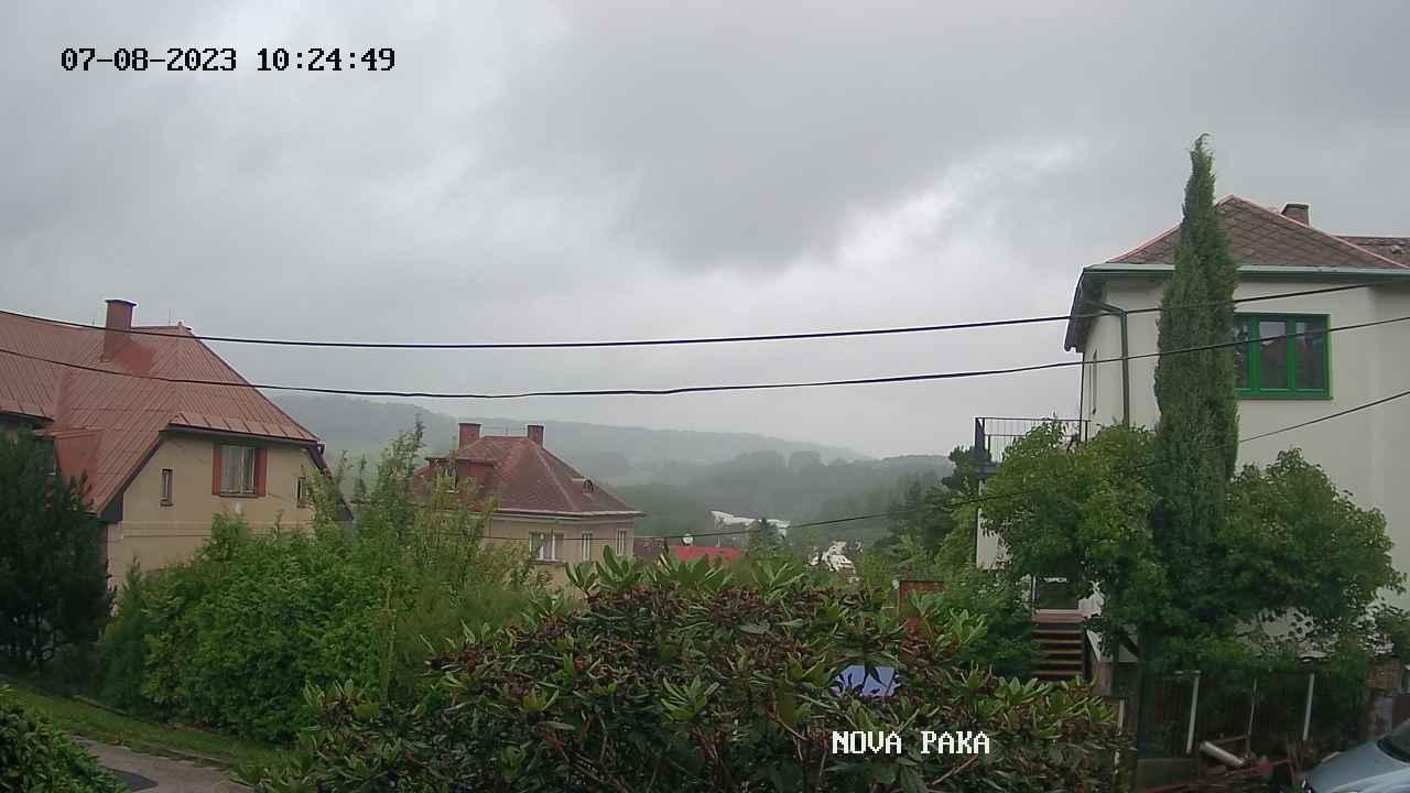 Web kamera Nov� Paka - meteostanice